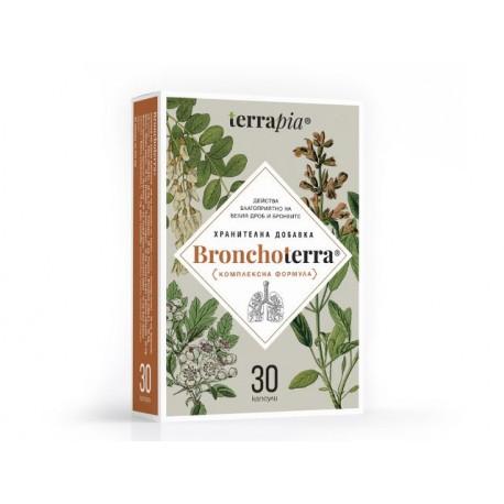 Bronchoterra - за бял дроб и бронхи