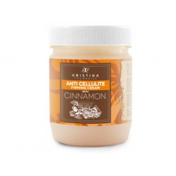 Anti-cellulite cream with cinnamon oil