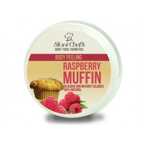 Body peeling - Raspberry Muffin