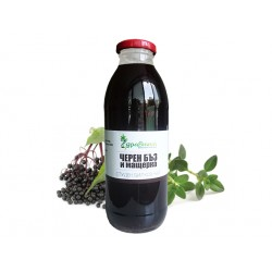 Elderberry & Thyme - Ice Herbal Tea, Zdravnitza (500 ml)