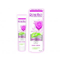 Hand Cream with 100% Organic rose water