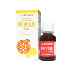 Propolis drops - 20%, FitoFarm - 15 ml