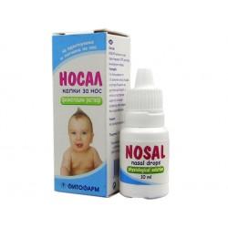 Nosal - nasal drops