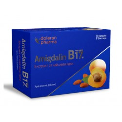 Amygdalin (Vitamin B17), extract of apricot kernels, 60 capsules