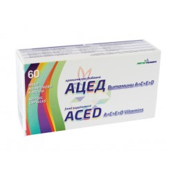 ACED - vitamins A,C,E and D