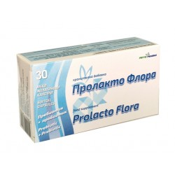 Prolacto Flora, prebiotic and probiotic - 30 capsules