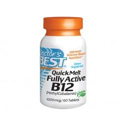 Витамин B12, Метилкобаламин, 100 мкг. - 60 таблетки