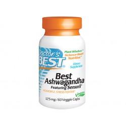 Ашваганда, Doctor's Best - 60 капсули