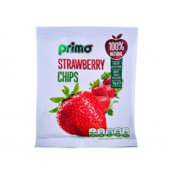 Strawberry Chips, Primo - 50 g