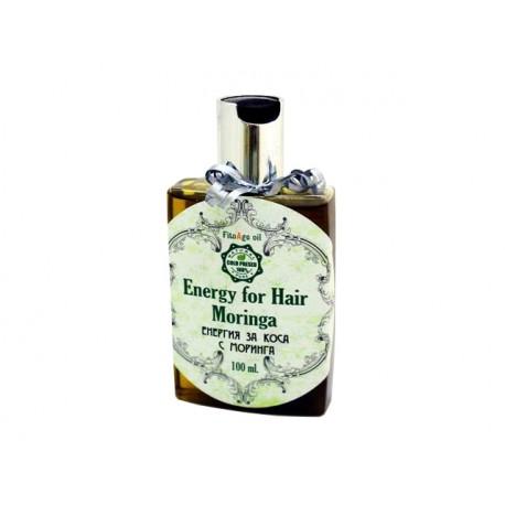 Енергия за коса с моринга и хималайски билки