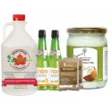 """Maple Syrup Diet with Coconut Oil"" - Healthy package"