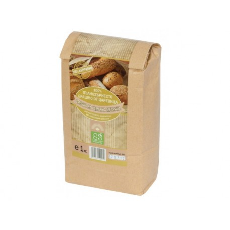 Natural wholegrain corn meal