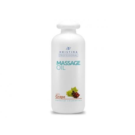Професионално масажно олио - грозде, Христина - 500 мл.