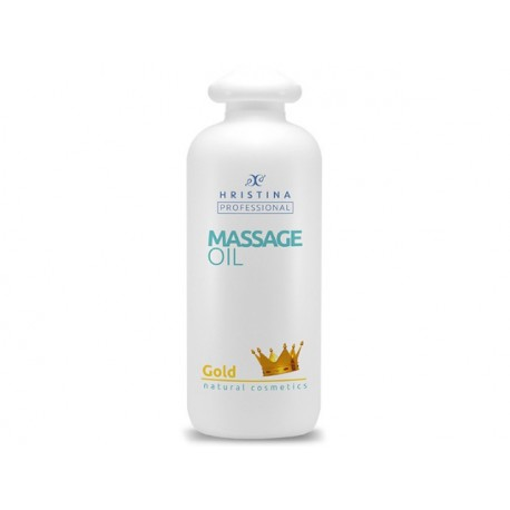 Professional Gold Massage Oil - 500 ml