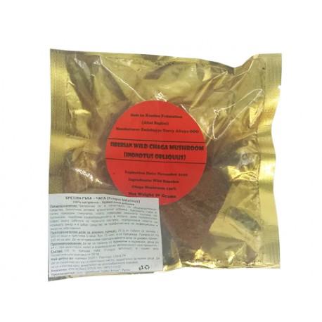 Брезова гъба - Чага, дива, сибирска - 50 гр.
