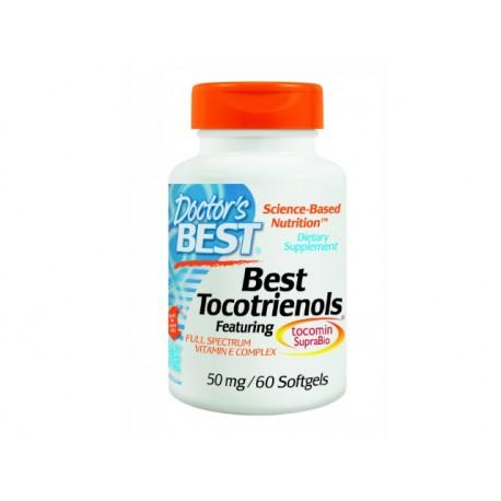 Витамин Е с токотриеноли, Doctors Best - 60 капсули
