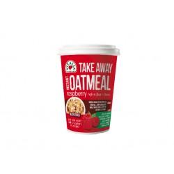 Овесена закуска с малини, TakeAway - 85 гр.