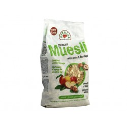 Crunchy Muesli with apples, hazelnuts and brown sugar - 320 g