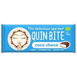 Суров бар с кокос и какао, QuinBite - 30 гр.