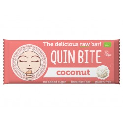 Coconut Raw Vegan Bar, QuinBite - 30 g