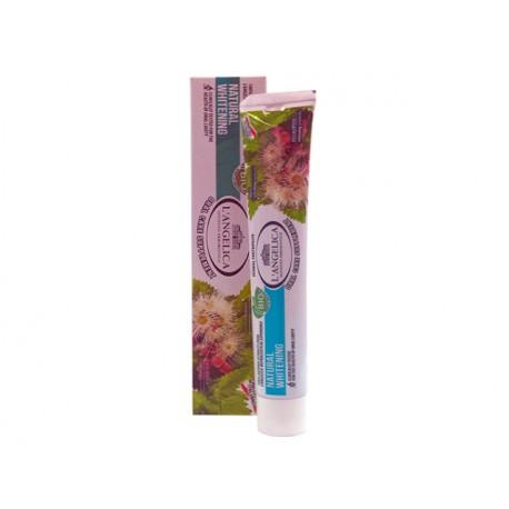 Билкова паста за зъби - естествено избелване, L'Angelica - 75 мл.