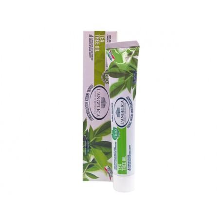 Билкова паста за зъби - чаено дърво, L'Angelica - 75 мл.