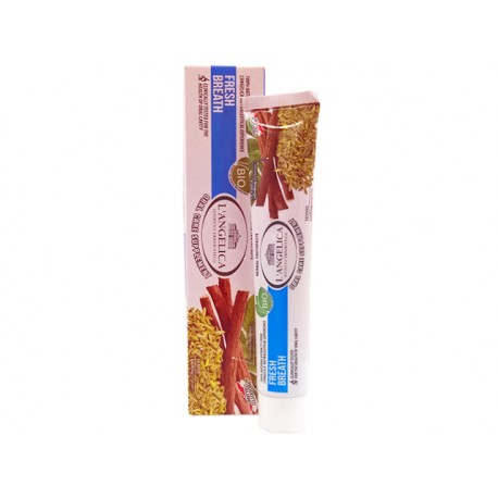Билкова паста за зъби - свеж дъх, LAngelica - 75 мл.