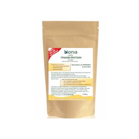 Грахов протеин - суров, Биониа - 200 гр.