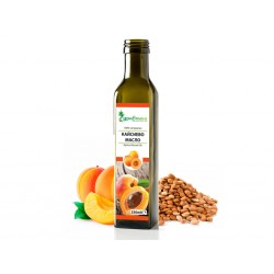 Apricot oil, cold-pressed, Zdravnitza - 250 ml