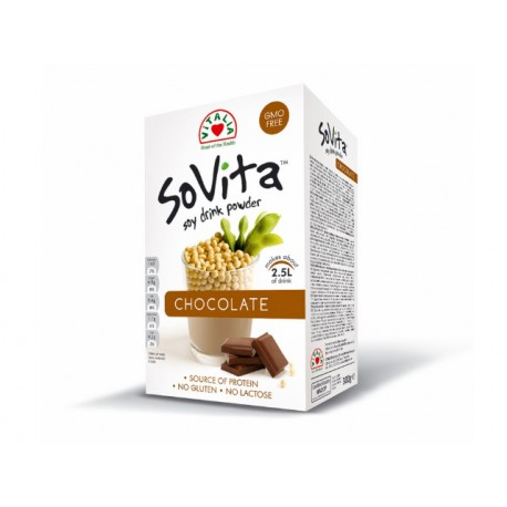 SoVita Chocolate, Соева напитка на прах, 300 гр.