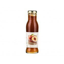 Natural Peach Syrup, concentrate, 285 ml