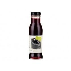 Natural Black currant Syrup, concentrate, 285 ml