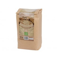 Natural brown wheat flour, 1 kg
