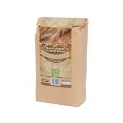Натурално пълнозърнесто пшенично брашно, Екосем, 1 кг.