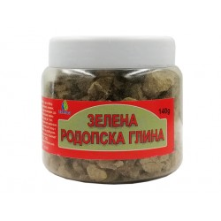 Зелена родопска глина, натурална, Биохерба, 140 гр.