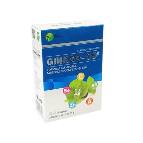 Гинко-Ко, комплекс от витамини и минерали, 30 капсули