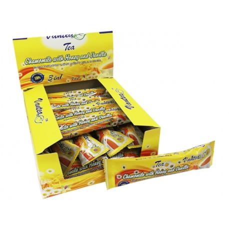 Бързоразтворим чай от лайка с мед и ванилия, кутия, 20 пакетчета