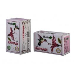 Каркаде (Хибискус), билков чай, 20 филтърни пакетчета