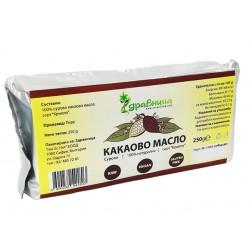 Cocoa Butter, Raw, Natural, Foodstuff, Zdravnitza, 250 g
