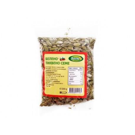 Raw, hulled pumpkin seeds, natural, 200 g