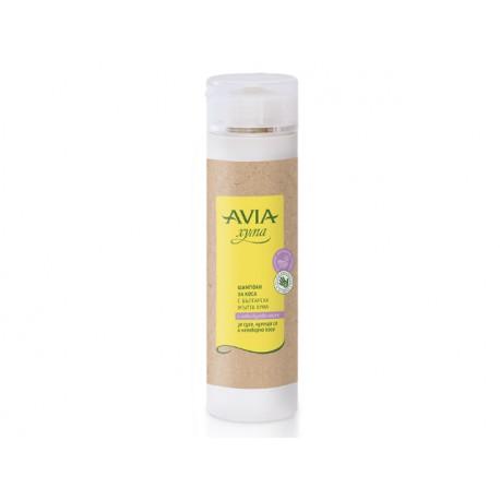 Шампоан с жълта хума и лавандулово масло, Avia, 250 мл.