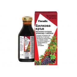 Билкова кръв, билков елексир с желязо, Floradix, 500 мл.