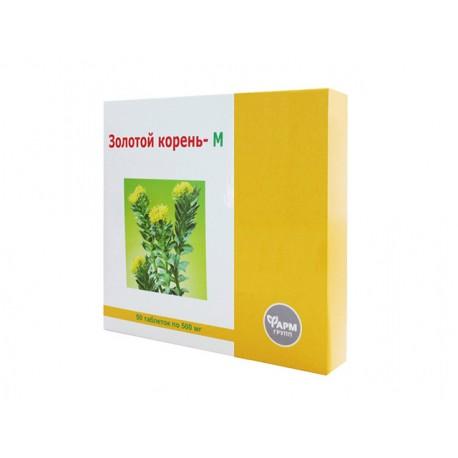 Златен корен - М, при стрес, Фарм Групп, 50 таблетки