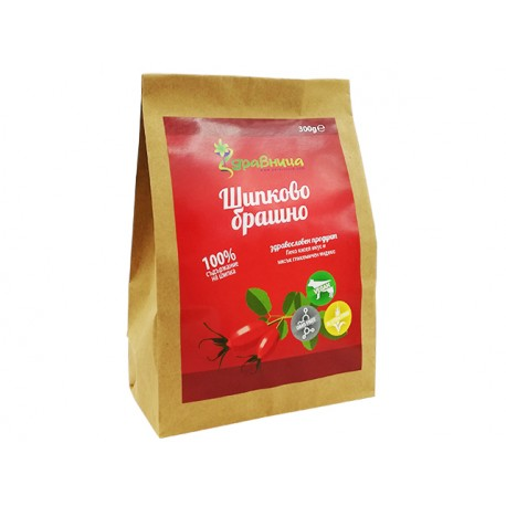 Natural Rosehip flour, from fruit, Zdravnitza, 300 g