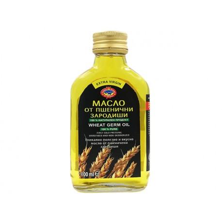 Масло от пшеничен зародиш, студено пресовано, Агроселпром, 100 мл.