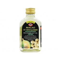 Масло от макадамия, студено пресовано, Агроселпром, 100 мл.