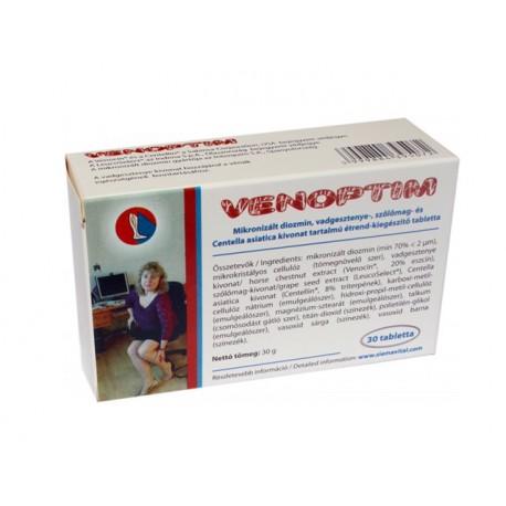 Веноптим, при разширени вени, 30 таблетки