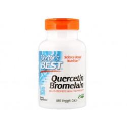 Quercetin Bromelain, 180 veggie capsules