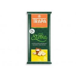 Бял шоколад със стевия и малтитол, Трапа, 75 гр.