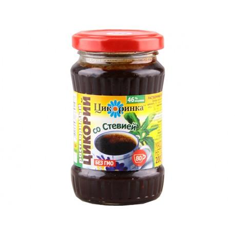 Разтворим екстракт на цикория със стевия, Цикоринка, 200 гр.